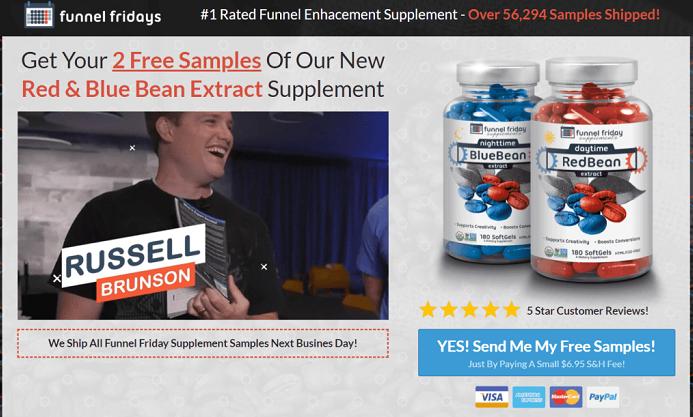 Clickfunnels free supplement funnel