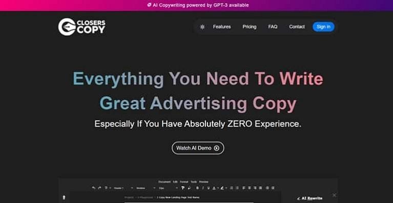 Closers Copy funnel scripts alternative